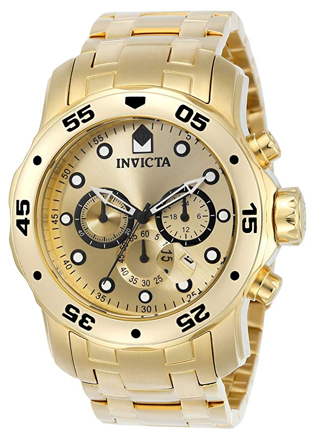 Invicta Scuba Pro Diver Chronograph Mens Watch 0074
