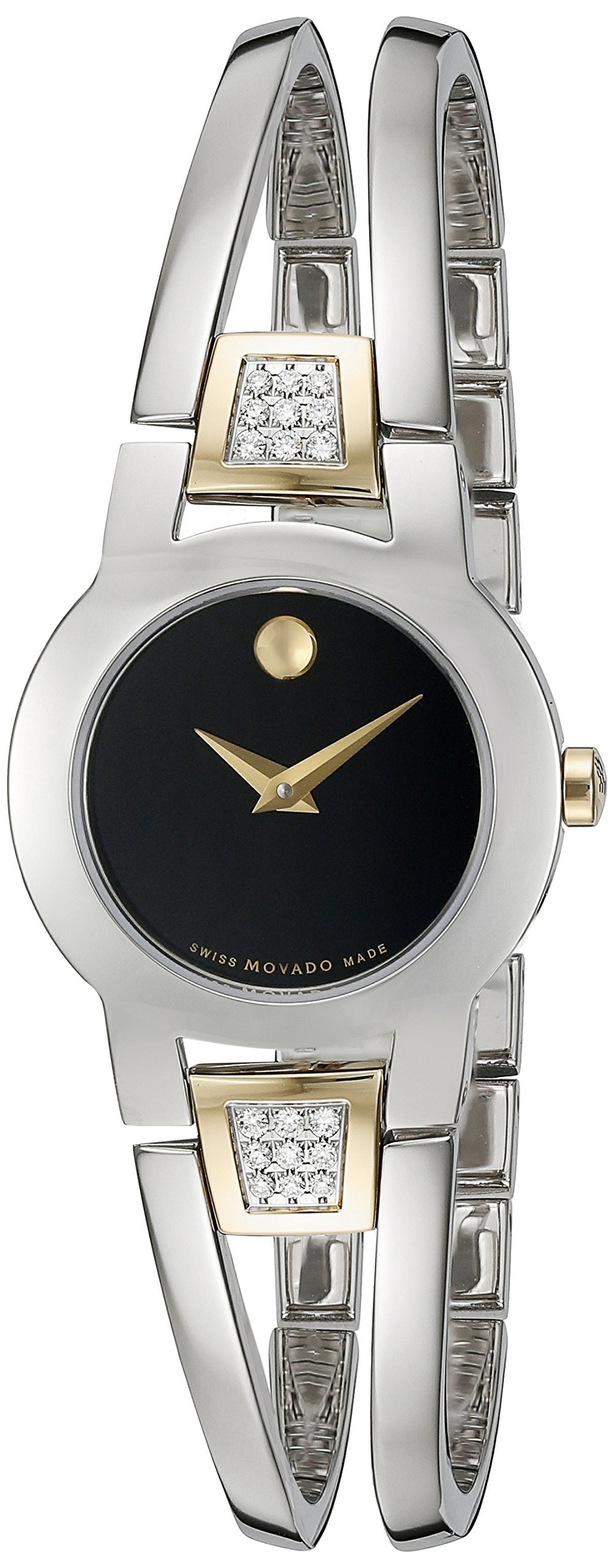 Movado Amorosa Stainless Steel Ladies Watch 0606894