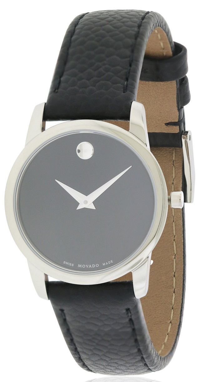 Movado  Museum Classic Leather Ladies Watch 0607015
