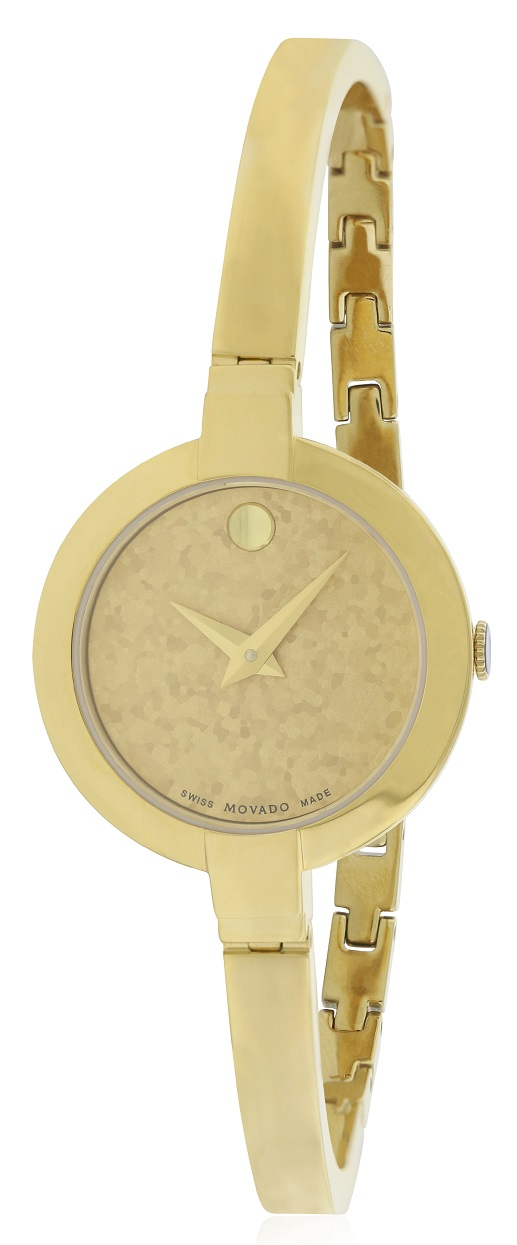 Movado Bela Gold-Tone Stainless Steel Ladies Watch 0607018