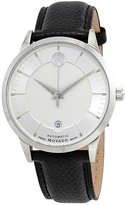 Movado 1881 Automatic Leather Mens Watch 0607022