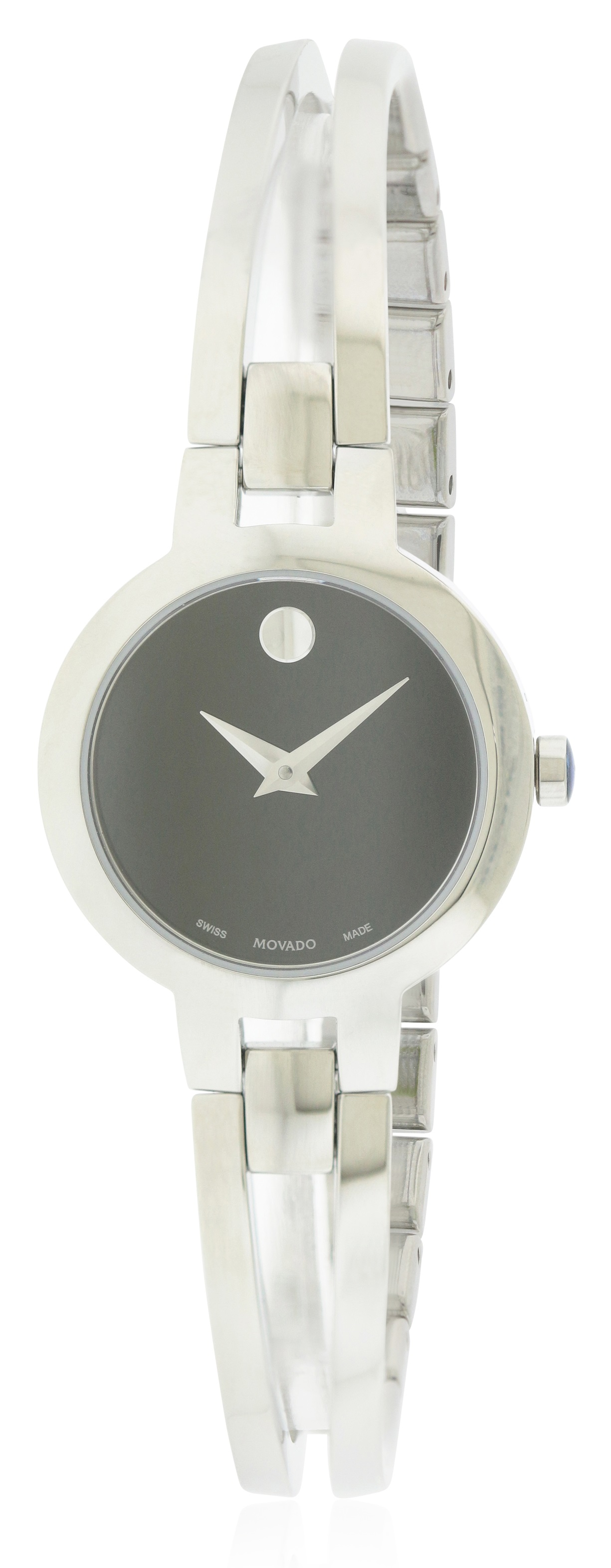 Movado Amorosa Stainless Steel Ladies Watch 0607153