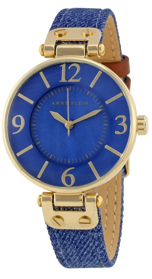 Anne Klein Denim Ladies Watch 10-9168BMDD