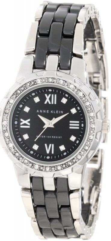 Anne Klein Ceramic Ladies Watch 10-9457BKSV