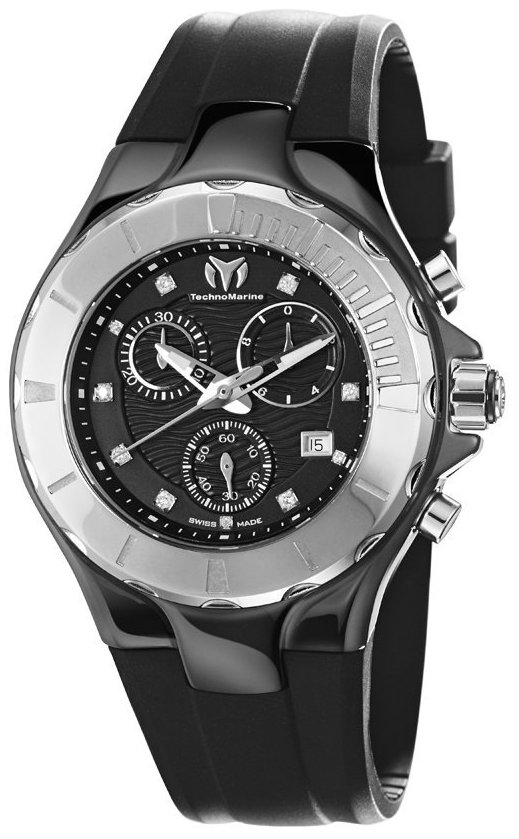 TechnoMarine Cruise   Ceramic Chronograph Unisex   Watch 110028