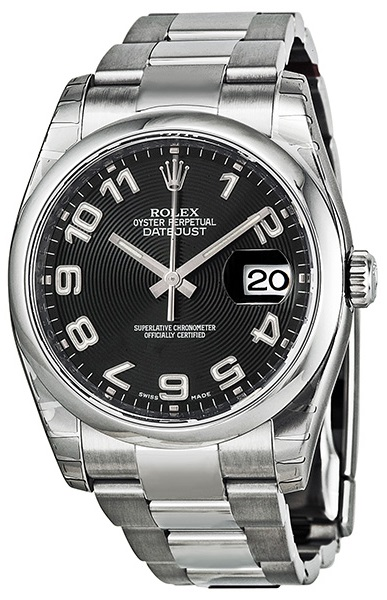 Rolex Datejust Oyster Watch 116200-BKAO