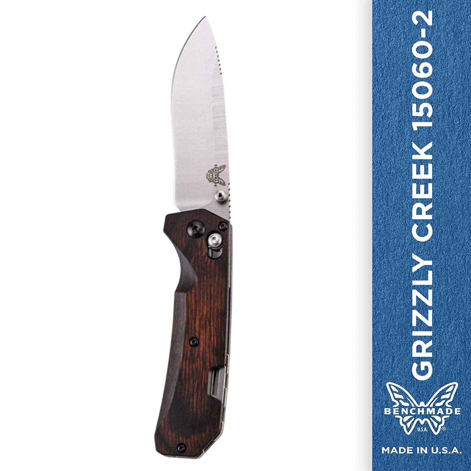 Benchmade - Grizzly Creek 15060-2 Knife Wood Handle