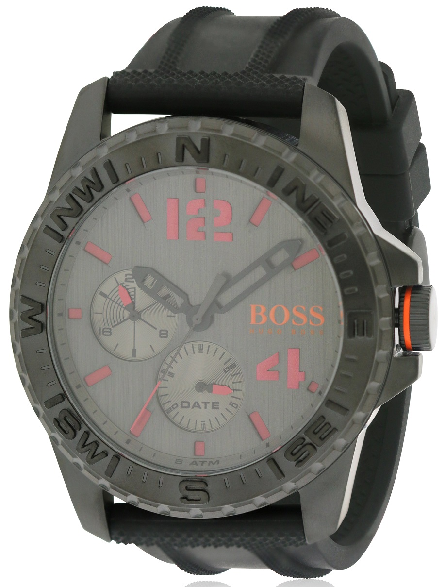 Hugo Boss Silicone Mens Watch 1513423