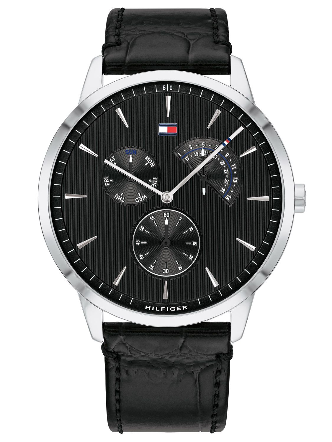 Tommy Hilfiger Brad Multifunction Leather Mens Watch 1710391