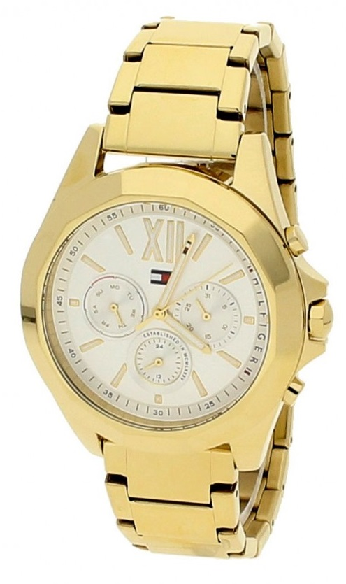 Tommy Hilfiger Chelsea Gold-Tone Chronograph Ladies Watch 1781848