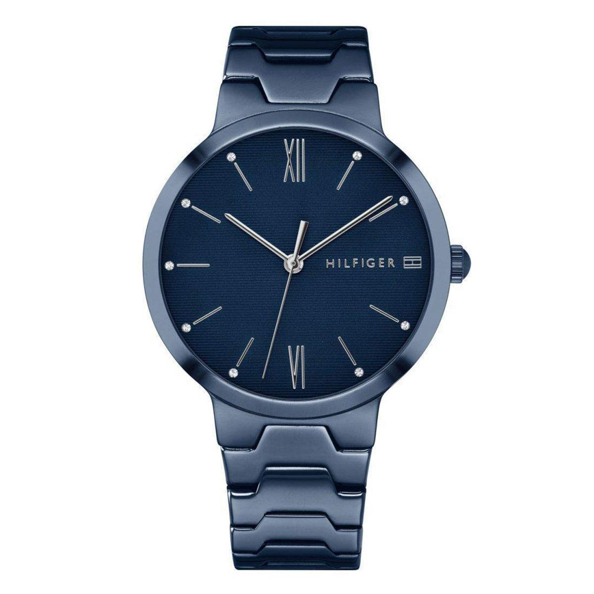 Tommy Hilfiger Blue Stainless Steel Mens Watch 1781955