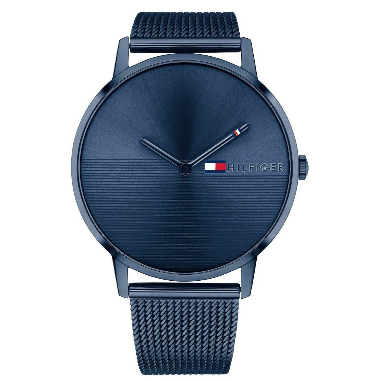 Tommy Hilfiger Blue Stainless Steel Mesh Ladies Watch 1781971