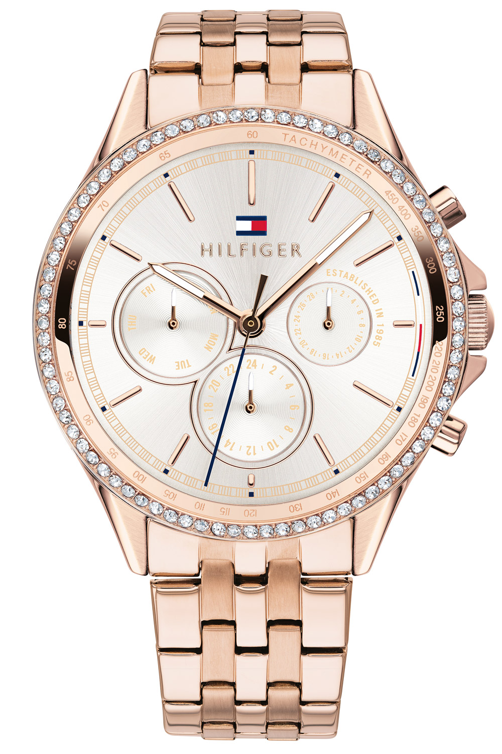 Tommy Hilfiger Ari Carnation Rose Gold-Tone Ladies Watch 1781978