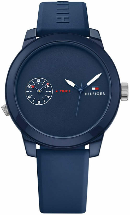 Tommy Hilfiger Cool Sport Navy Silicone Mens Watch 1791325