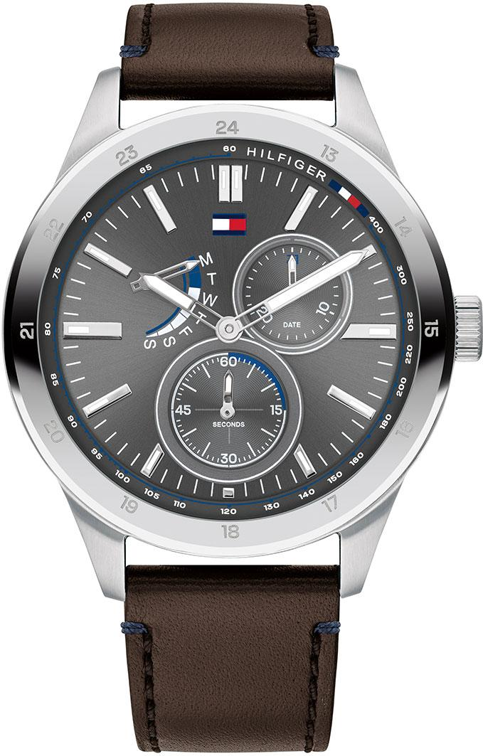 Tommy Hilfiger Austin Multifunction Leather Mens Watch 1791637