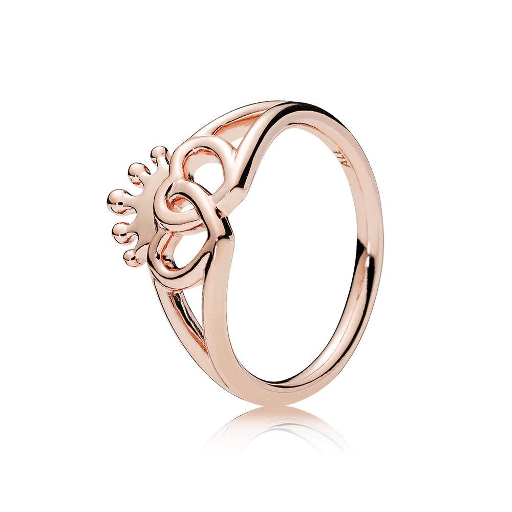 a2dbdb79e PANDORA United Regal Hearts Ring Size 58 - 187685-58