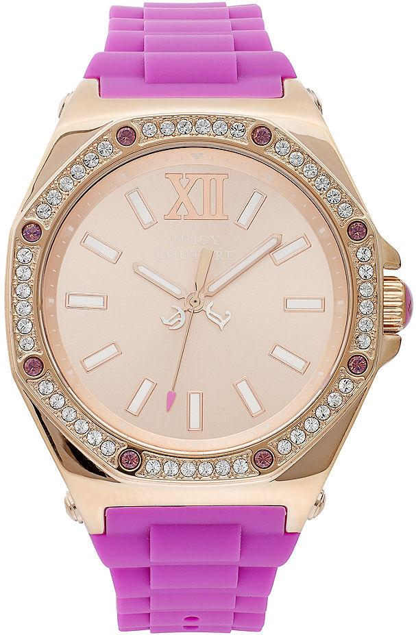 Juicy Couture Chelsea Silicone Ladies Watch 1901029