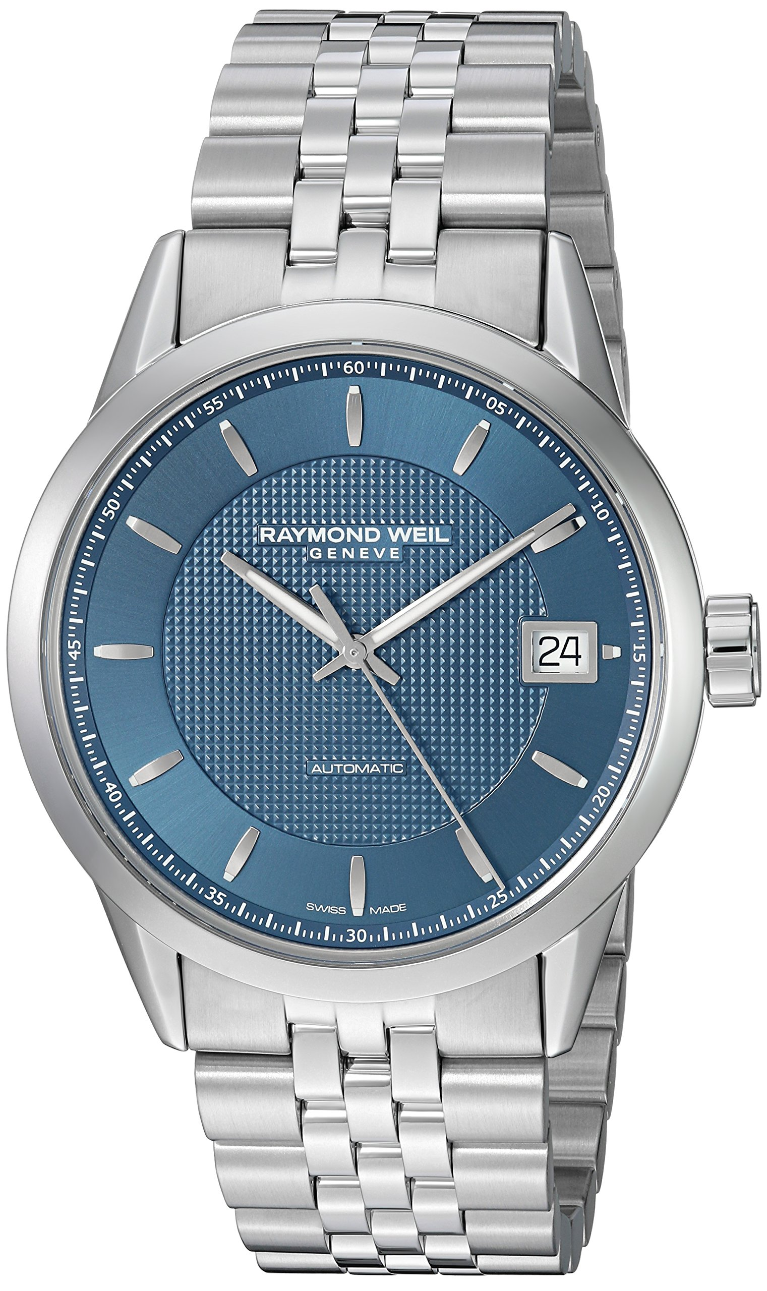 Raymond Weil Freelancer Automatic Stainless Steel Mens Watch 2740-ST-50021