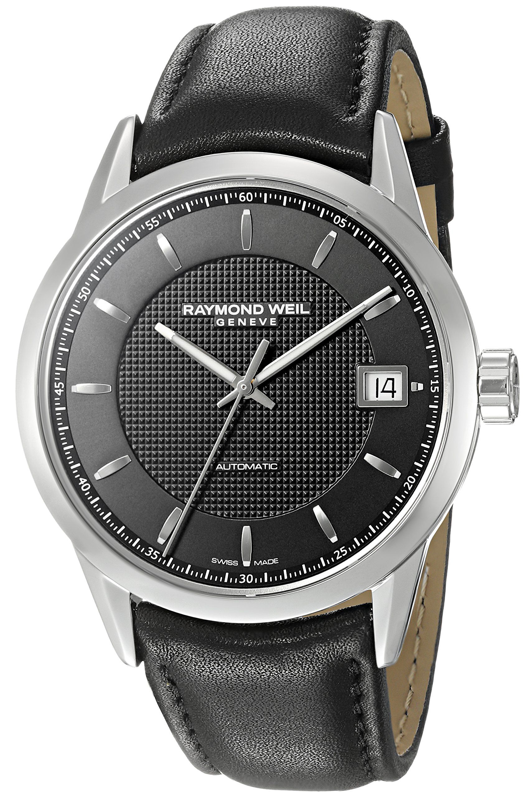 Raymond Weil Freelancer Leather Automatic Mens Watch 2740-STC-20021
