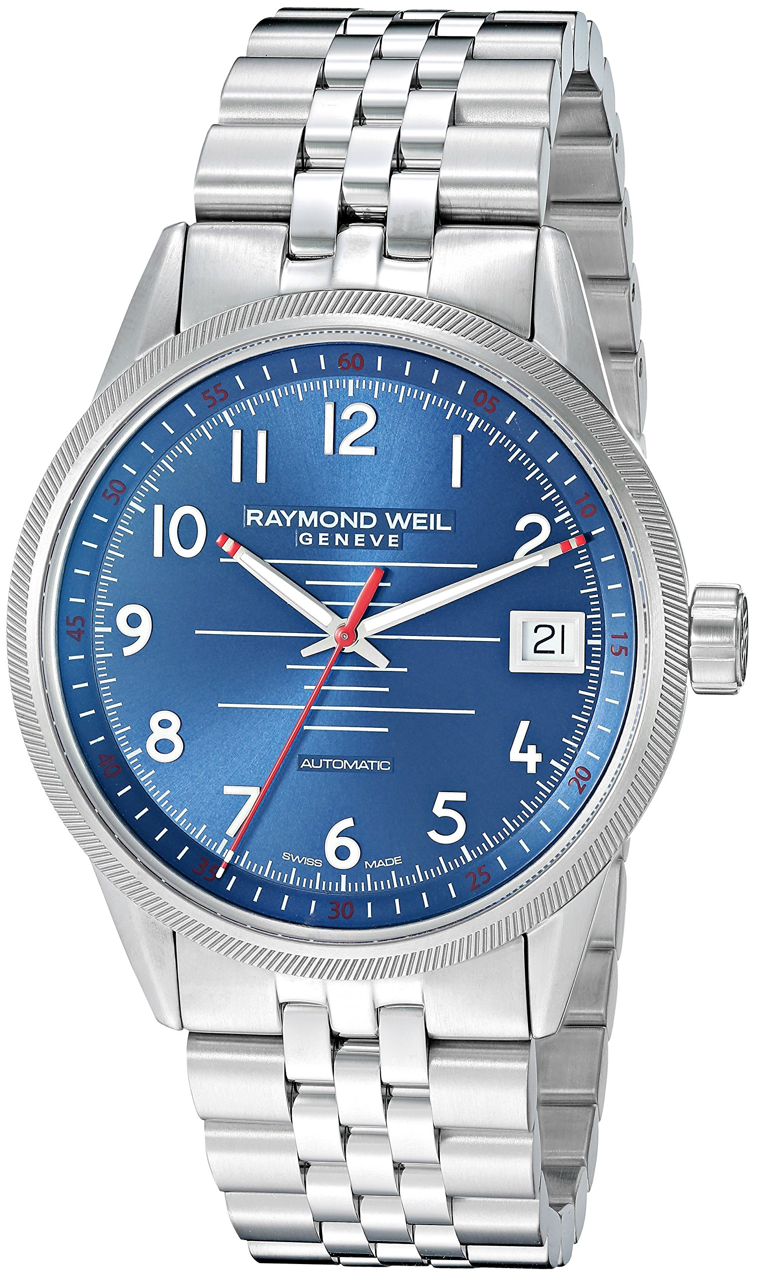 Raymond Weil Freelancer Stainless Steel Automatic Mens Watch 2754-ST-05500