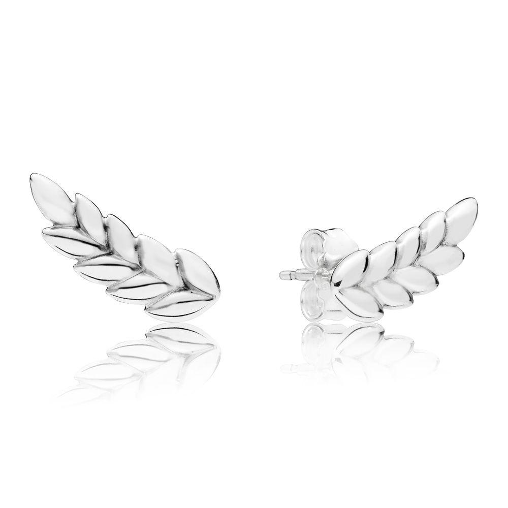 c9c9fce9a PANDORA Curved Grains Earrings - 297730, Solar Time Inc