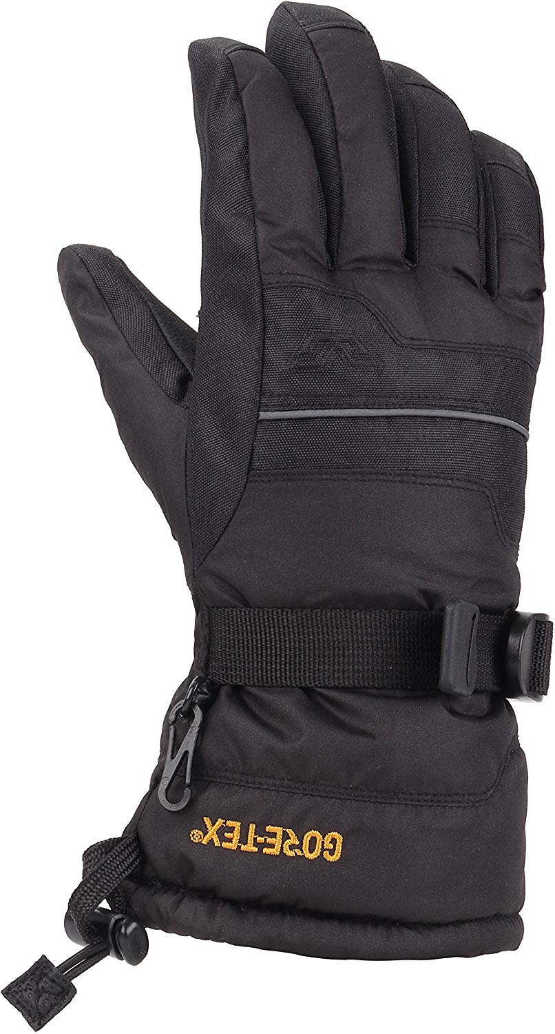 Gordini Little Kids Juniors Gore-tex IV Waterproof Insulated Gloves - Black - Large