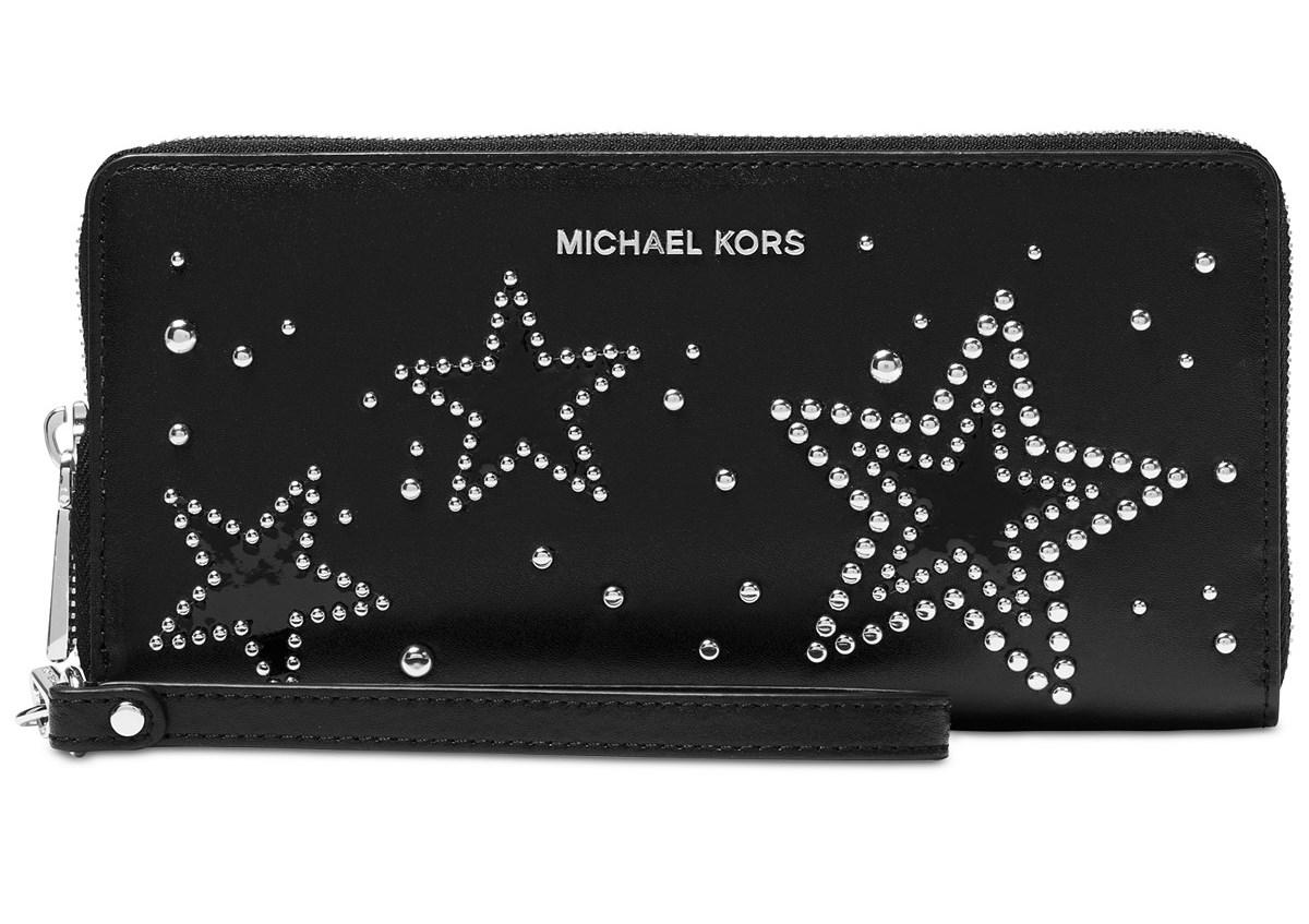 a8f5c59000ed5b Michael Kors Travel Continental Wallet - Black - 32H7SF6T3I-001