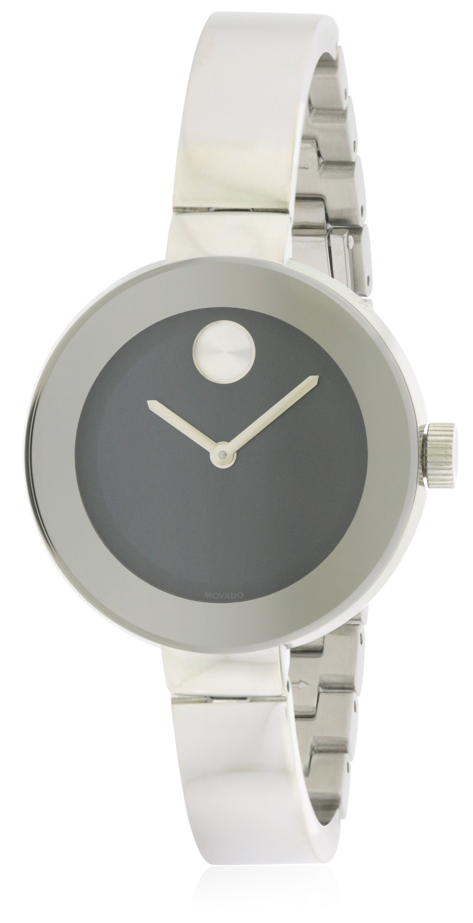 436fb4d78 Movado Bold Stainless Steel Ladies Watch 3600424, Solar Time Inc