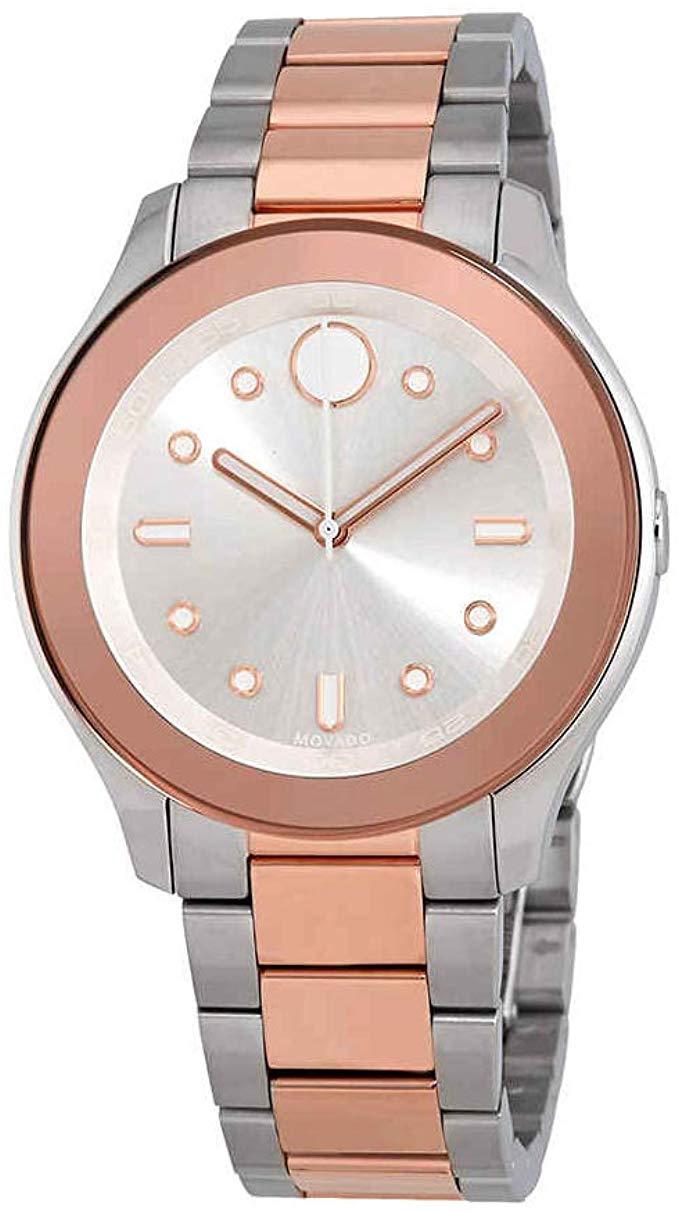 Movado Bold Two-Tone Ladies Watch 3600430