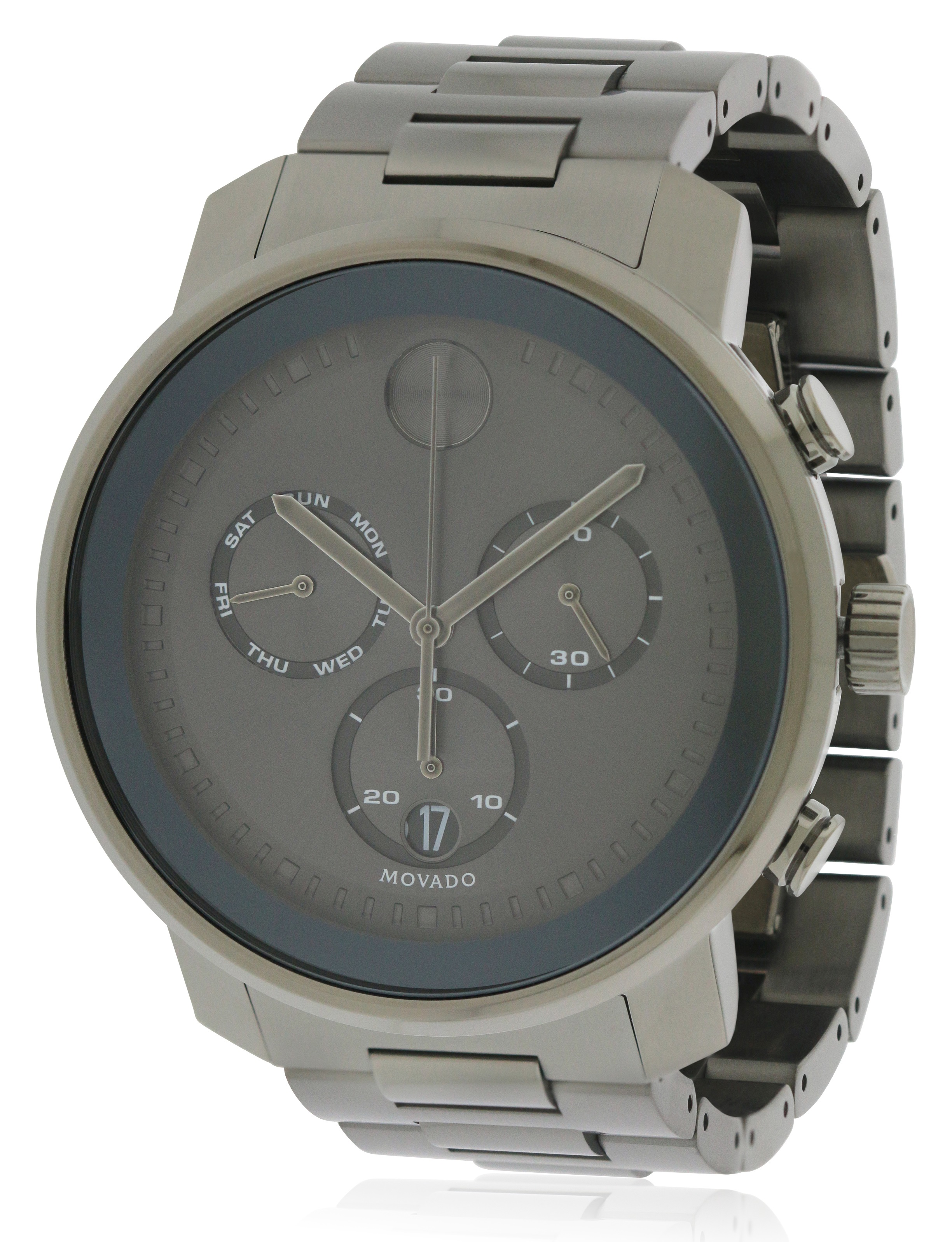watches luno movado watch room stainless property l steel