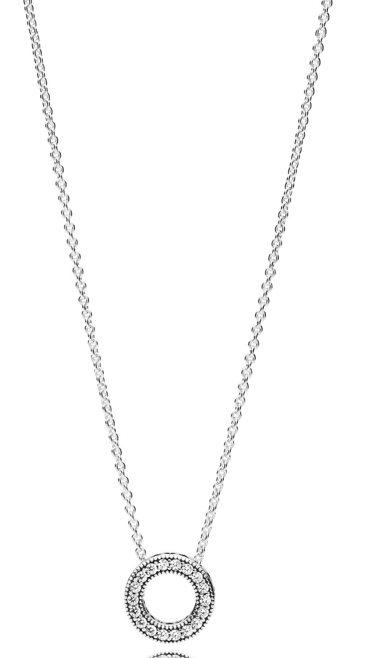 6b9004d05 PANDORA Hearts of PANDORA Necklace - 397436CZ-45