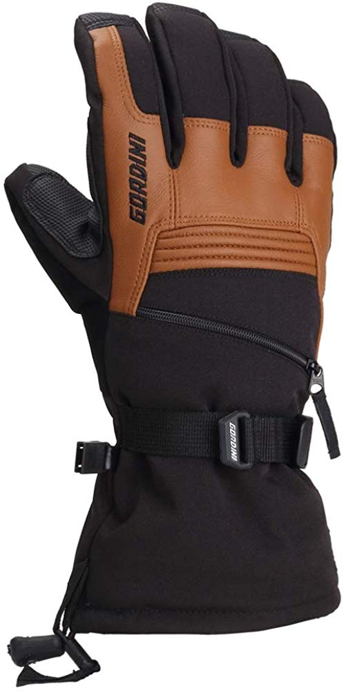 Gordini Mens Gore-tex Storm Trooper II Waterproof Insulated Gloves - Black/Tan - Large