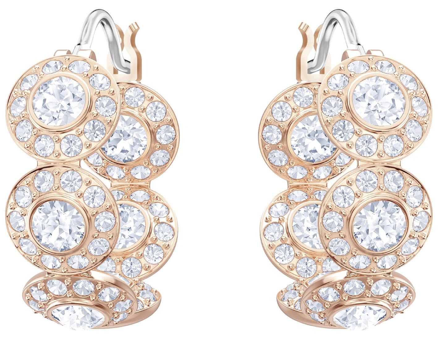 2661b3faa Swarovski Angelic Pierced Hoop Earrings - 5418271, Solar Time Inc
