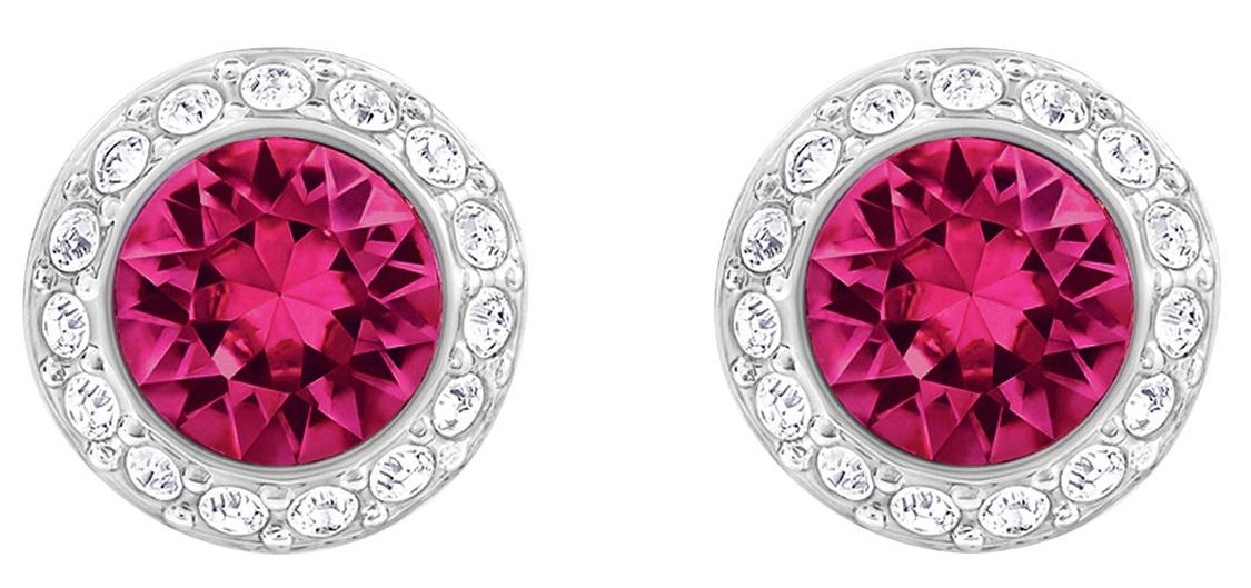 7cd66cbb3 Swarovski Angelic Pierced Earrings - Red - Rhodium plating 5446022