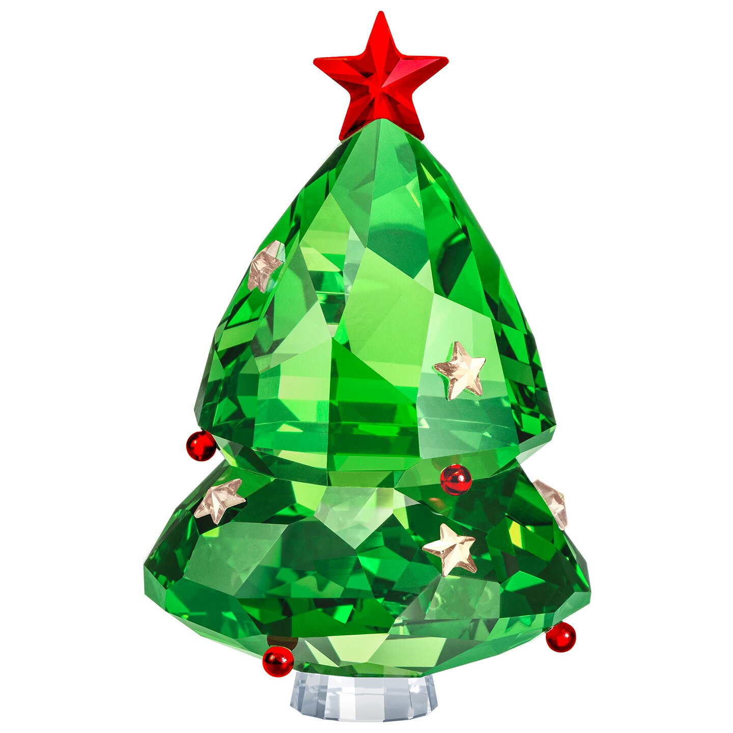 Swarovski Christmas Tree Green Ornament