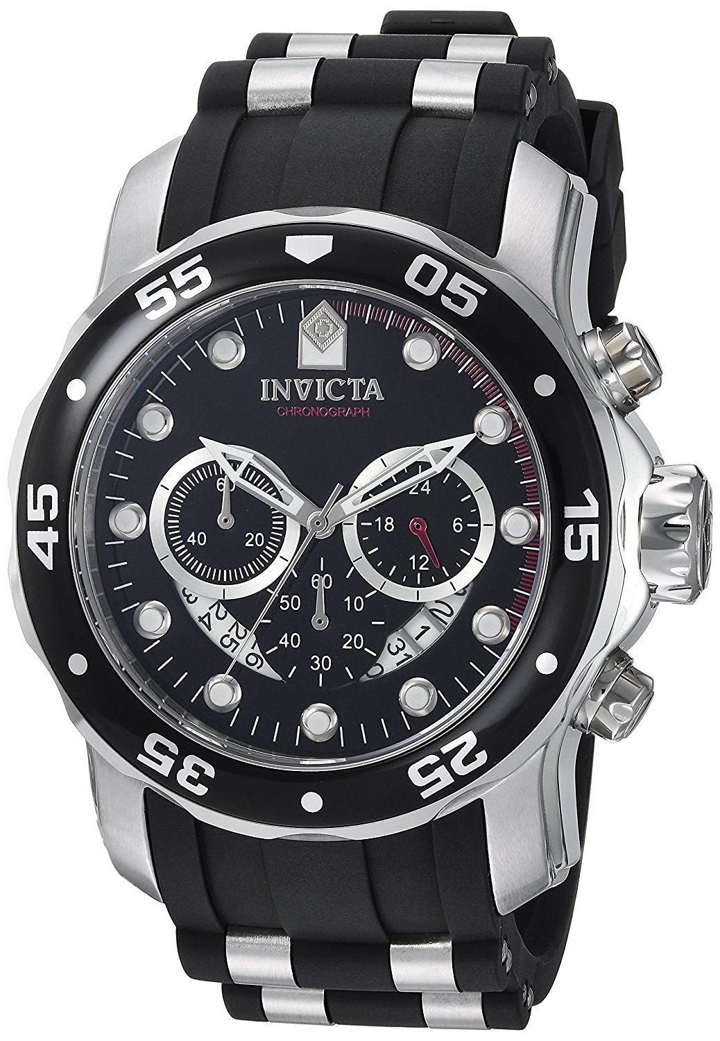 Invicta Diver Collection Chronograph  Polyurethane  Mens Watch 6977.GIFT