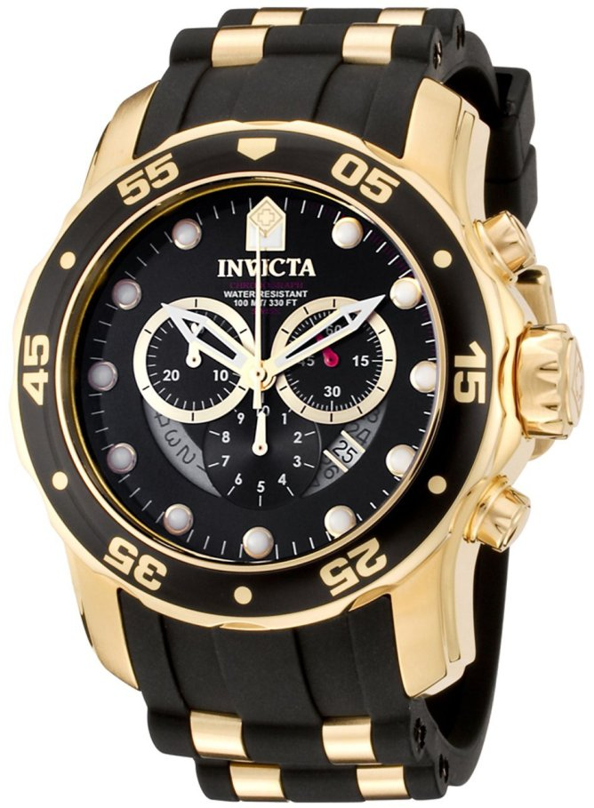 Invicta Pro Diver Swiss Chronograph Mens Watch 6981