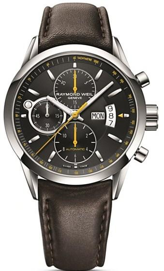 Raymond Weil Freelancer Leather Automatic Mens Watch 7730-STC-20021