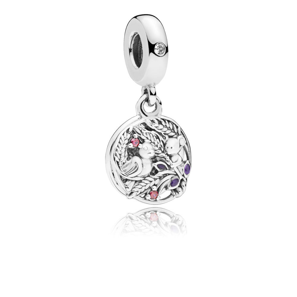 PANDORA Always By Your Side Dangle Charm - 797671CZRMX
