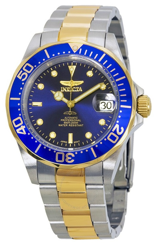 Invicta Pro Diver Two-Tone Automatic Mens Watch 8928