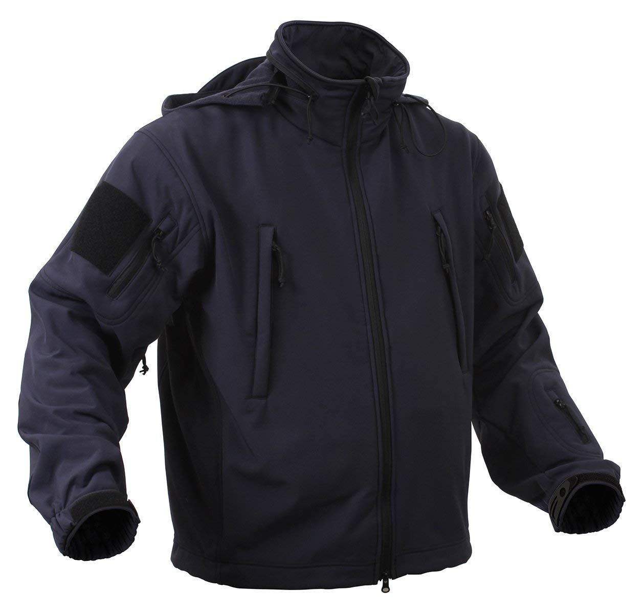 Rothco Special Ops Soft Shell Jacket - Midnite Blue - Small - 9511-BLUE-S