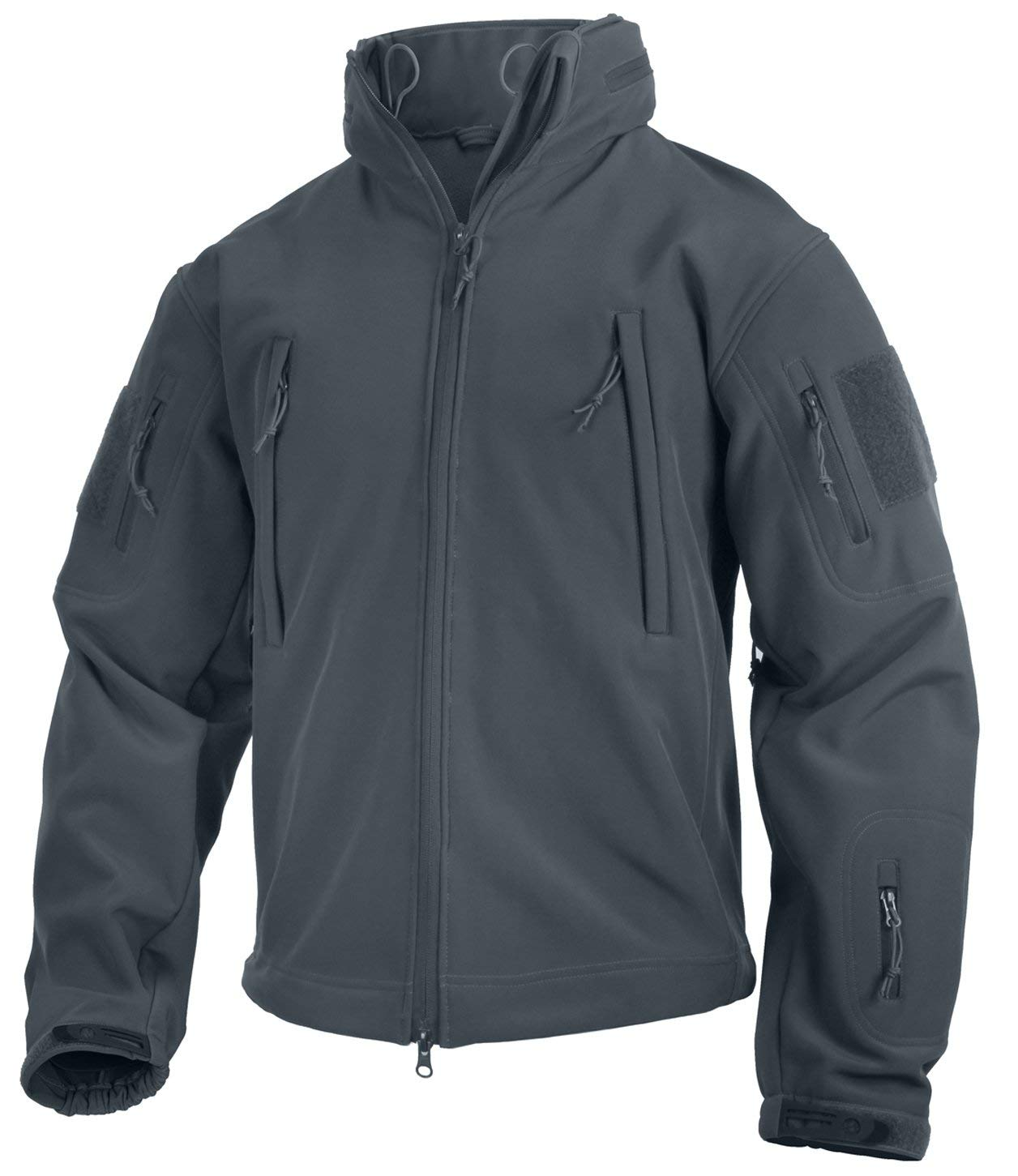 Rothco Special Ops Tactical Soft Shell Jacket - Gun Metal Gray - Small - 9824-GUN-METAL-GREY-S