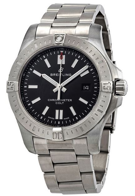 Breitling Chronomat Colt Steel Automatic Mens Watch A17388101B1A1