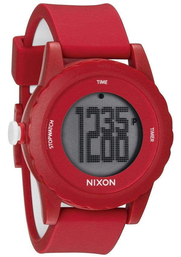 7f7c1ae3c Nixon The Genie Digital Silicone Mens Watch A326200, Solar Time Inc