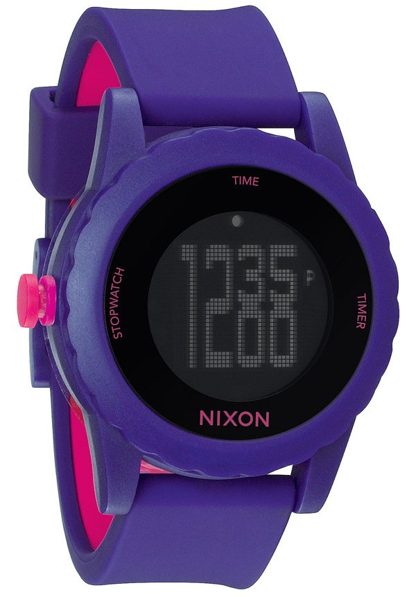 Nixon The Genie Digital Silicone Mens Watch A326230