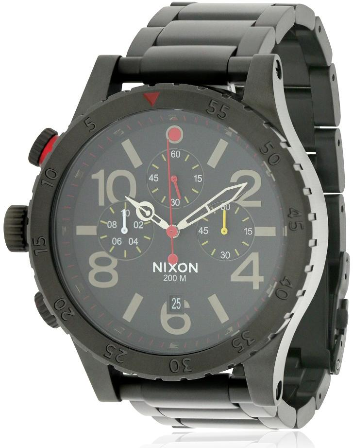 Nixon 48-20 Chrono All Black Mens Watch A4861320