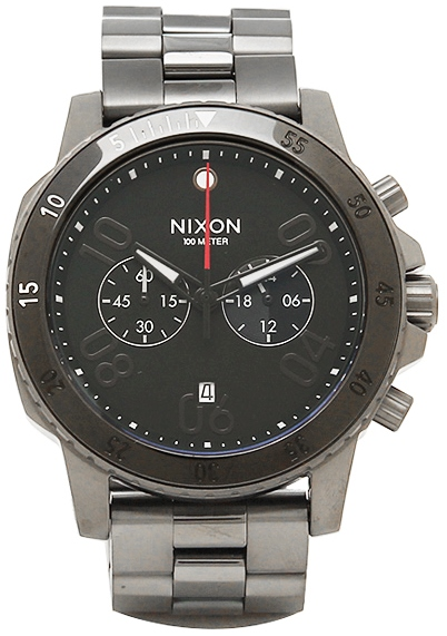 Nixon Ranger Gunmetal Chronograph Mens Watch A5491531