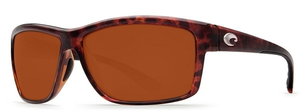 Costa Del Mar Mag Bay Polarized Tortoise Sunglasses - AA-10-OCP