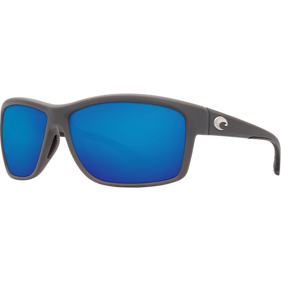 Costa Del Mar Mag Bay Polarized Matte Gray Sunglasses - AA-98-OBMP