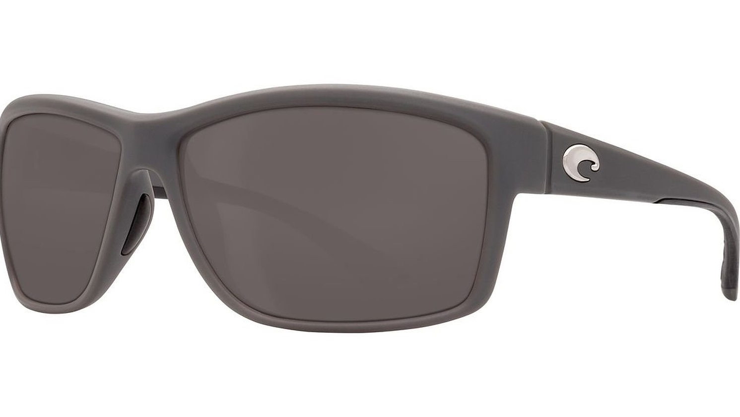 Costa Del Mar Mag Bay Polarized Matte Gray Sunglasses - AA-98-OGGLP